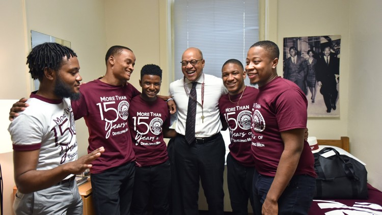 Morehouse president wants tuition to play smaller role in who can go