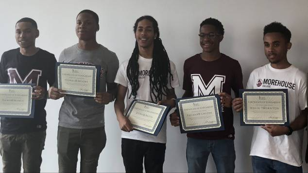 UNCF sending 6 McKinley Tech High grads to Morehouse College on scholarships