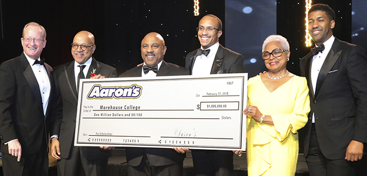 Aaron's Scholars Program to Support 20 Morehouse Students